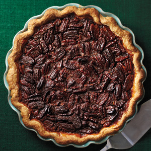 Brandied Pecan Pie