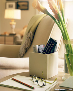 Organizing Technology in Your Living Room