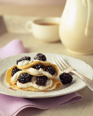 Crepe, Blintz, and Blini Recipes