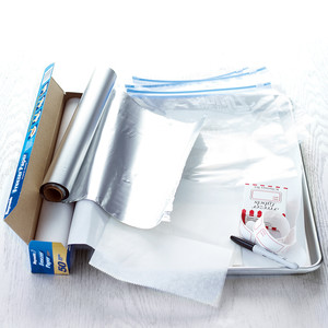 Lay Down the Plastic Wrap