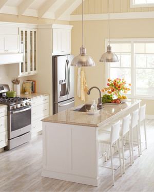 Home Depot: Quartz and Corian Countertops