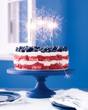 Red, White, and Blue Desserts