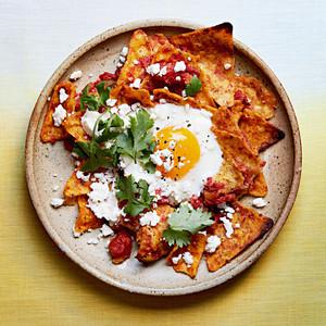 chilaquiles egg bake