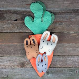 Hand-Stitched Garden Pals