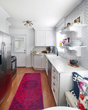 A Mudroom/Kitchen Combo Gets a Spotless Makeover | Martha ...