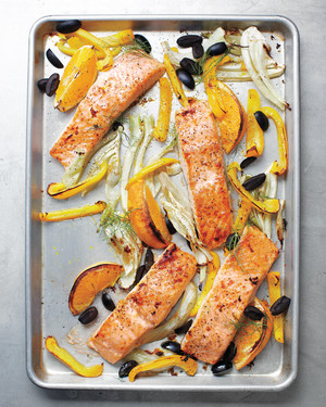 Sheet-Pan Suppers