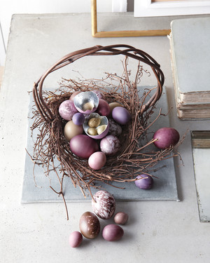 Martha's Stunning Easter-Basket Creations