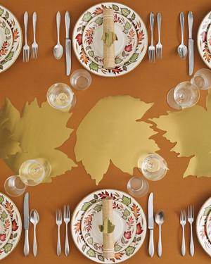 Thanksgiving Decor Ideas from Martha Celebrations