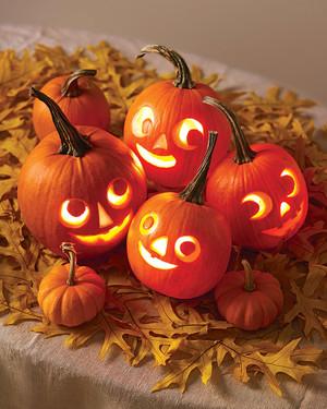 Carve-by-Color Pumpkins