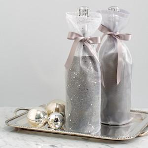 Metallic Wine Bags