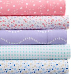 Martha Stewart Collection Printed Flannel Bedding