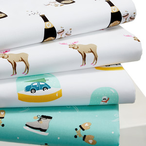 Whim Holiday Sheets by the Martha Stewart Collection