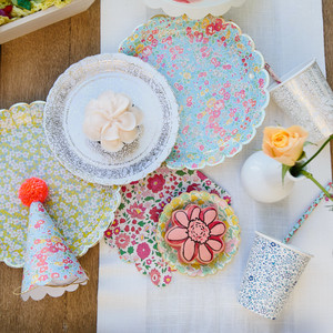Floral Prints by Liberty of London Inspired This Baby's First Birthday