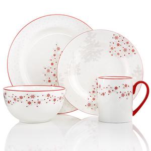 Martha Stewart Collection Winter Woods Dinnerware