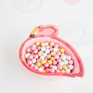 Flamingo candy tray