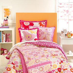Martha Stewart Collection Kids Flower Power Comforter Set