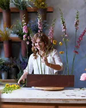 The Secret to Sky High Flower Arrangements