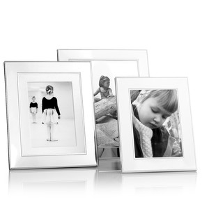 Martha Stewart Collection Silver Bead Picture Frames
