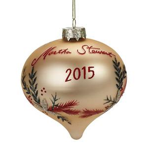 Martha Stewart Living Collectible Glass Ornament