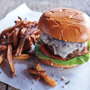 Beef and Bacon Cheeseburger
