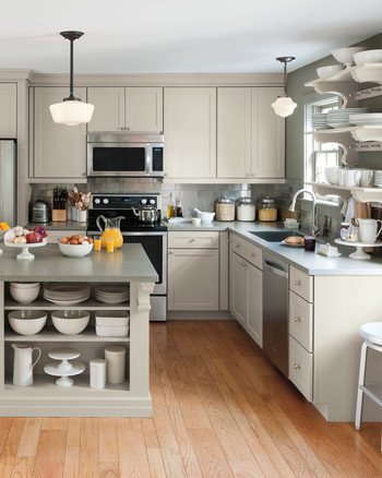 martha stewart living kitchen designs from the home depot | martha