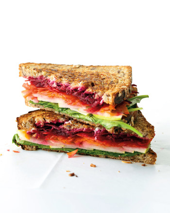 Radish and Avocado Sandwich Recipe | Martha Stewart