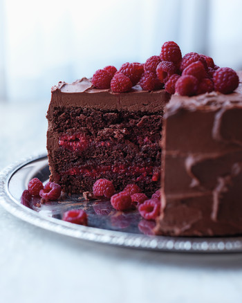 Chambord Layer Cake