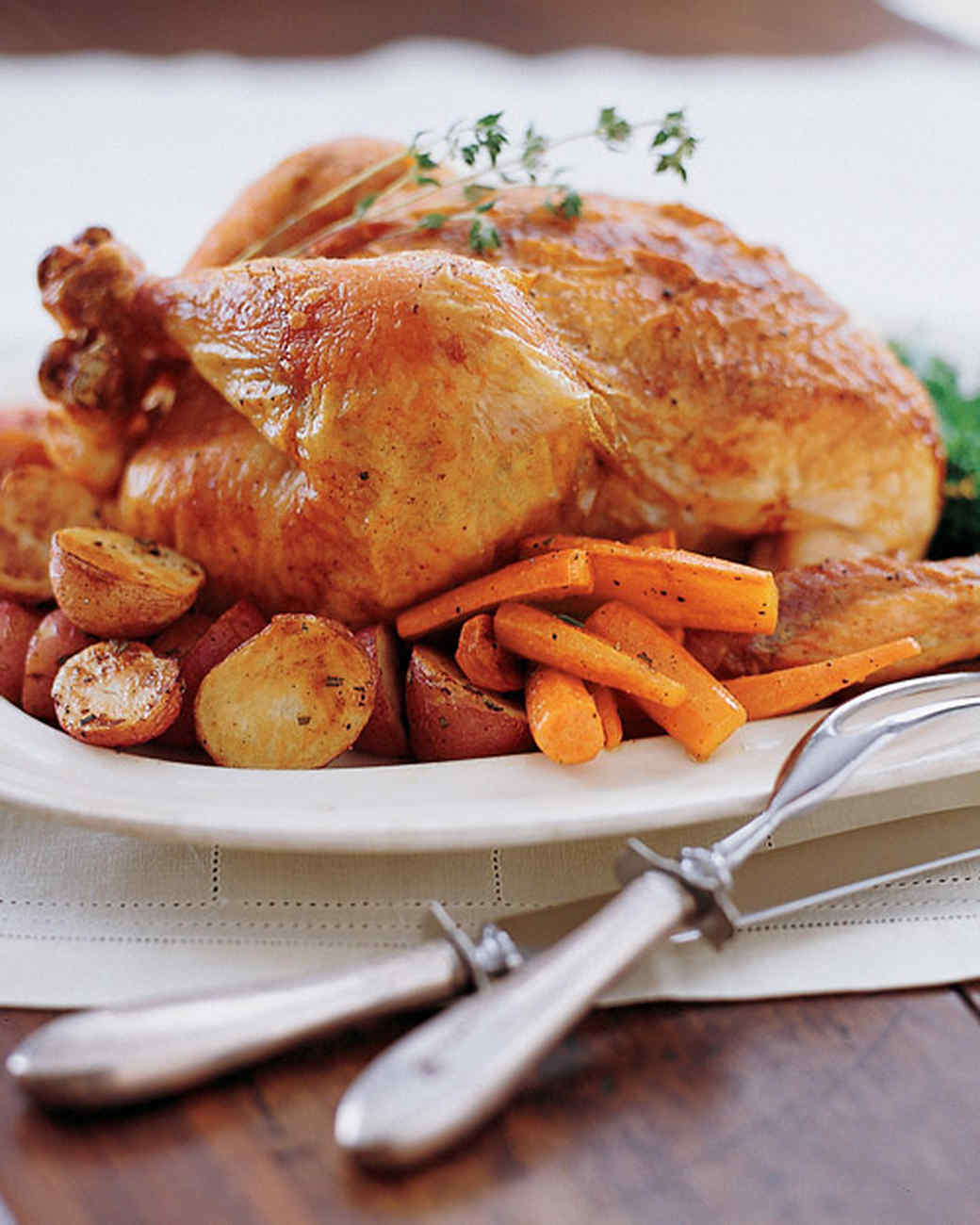 Perfect Roast Chicken Recipe & Video | Martha Stewart