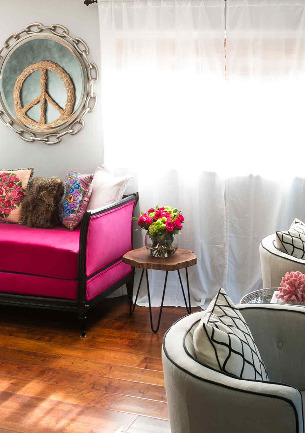 Zen (But Colorful!) Home Decorating Ideas