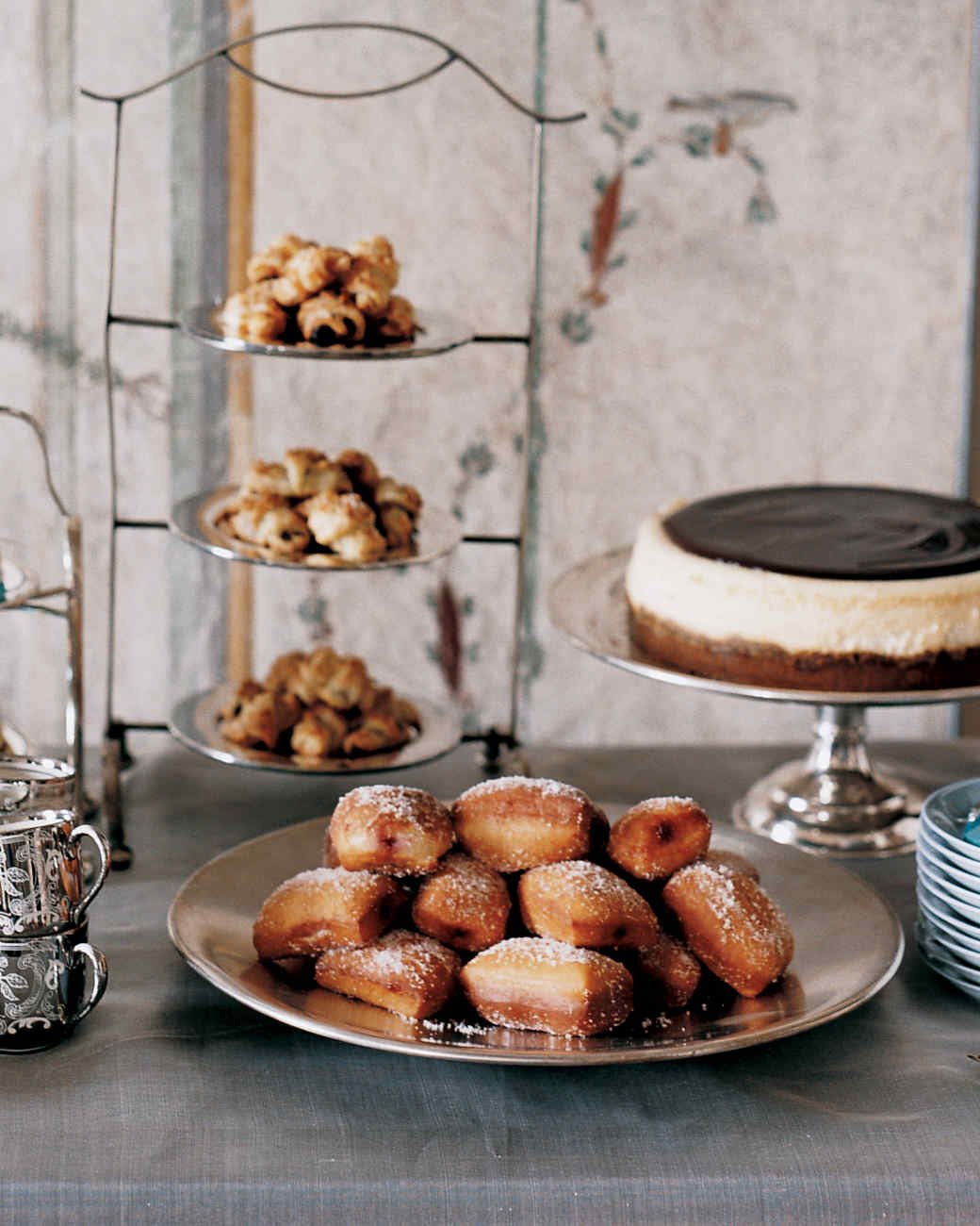 Cinnamon-Honey Doughnuts with Raspberry Jam Recipe | Martha Stewart