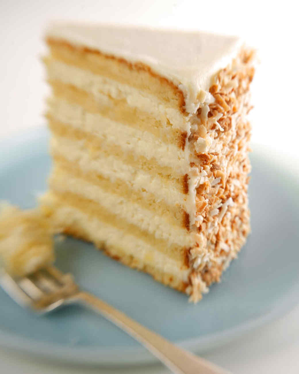 Coconut Lemon Layer Cake Martha Stewart