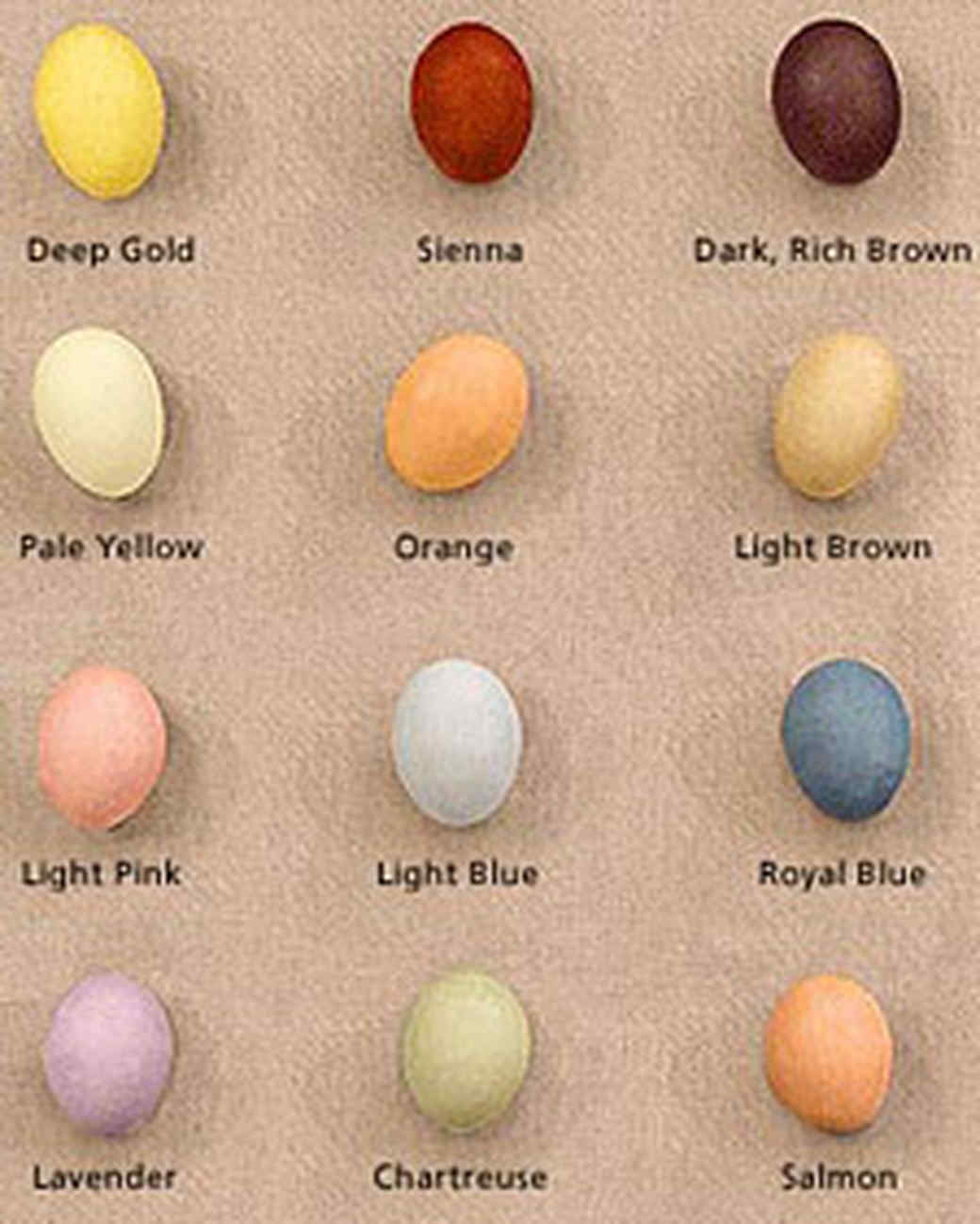The Tradition Of Dyeing Eggs Goes Back To Medieval Times When People Made