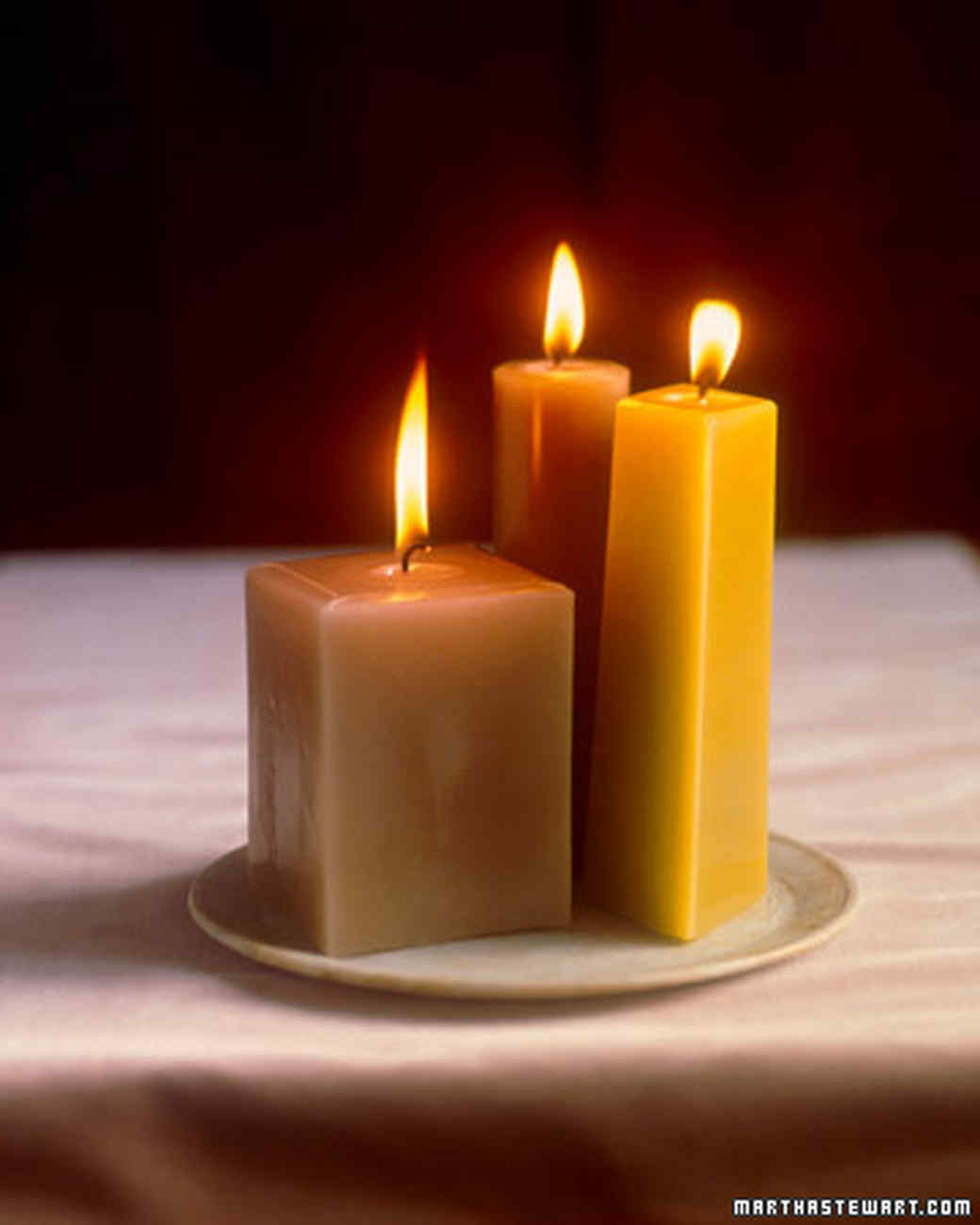 Molded Candles
