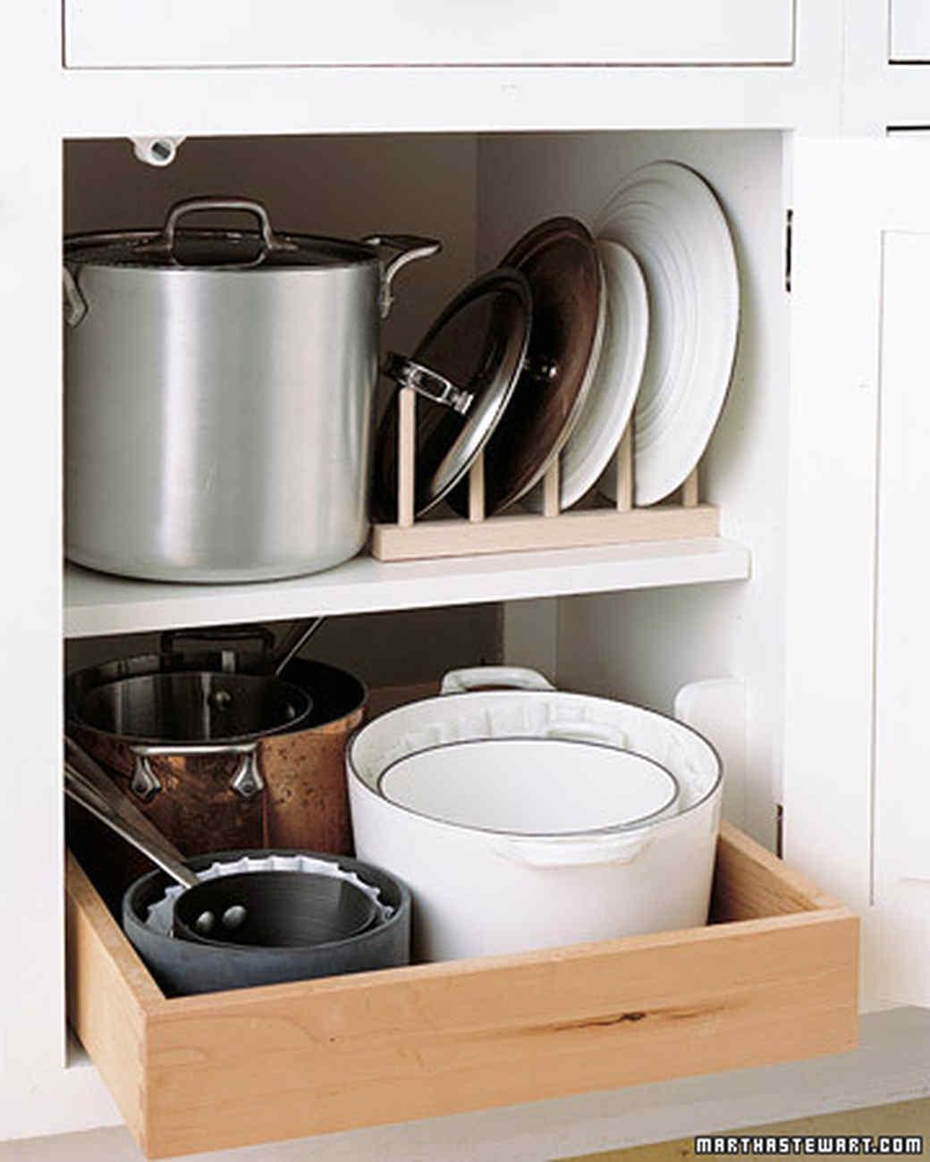 Kitchen Counter Organization Kitchen Organizing Tips Martha Stewart