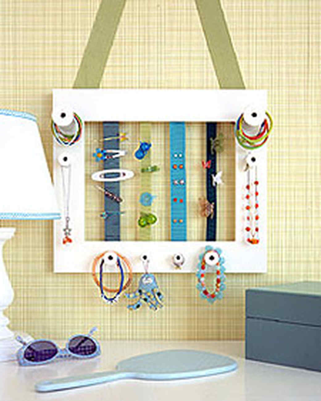 homemade accessory frames martha stewart