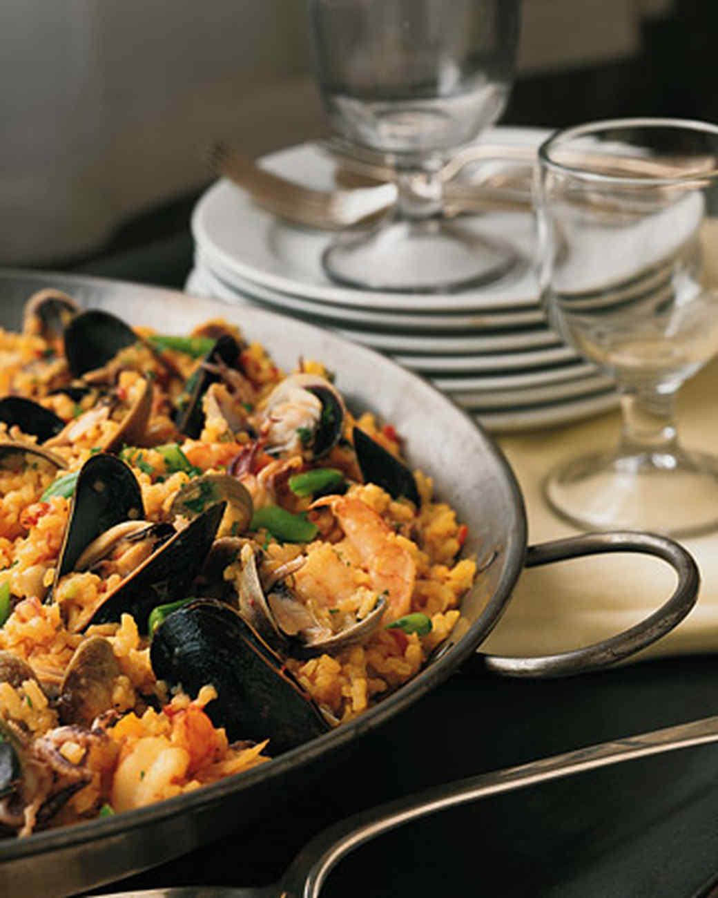 Seafood paella near me for Fish and shrimp near me