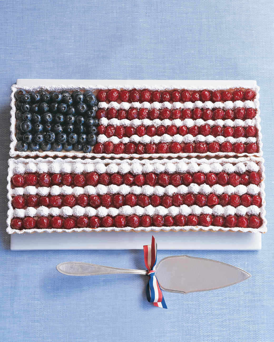 flag tarts patriotic fourth of july