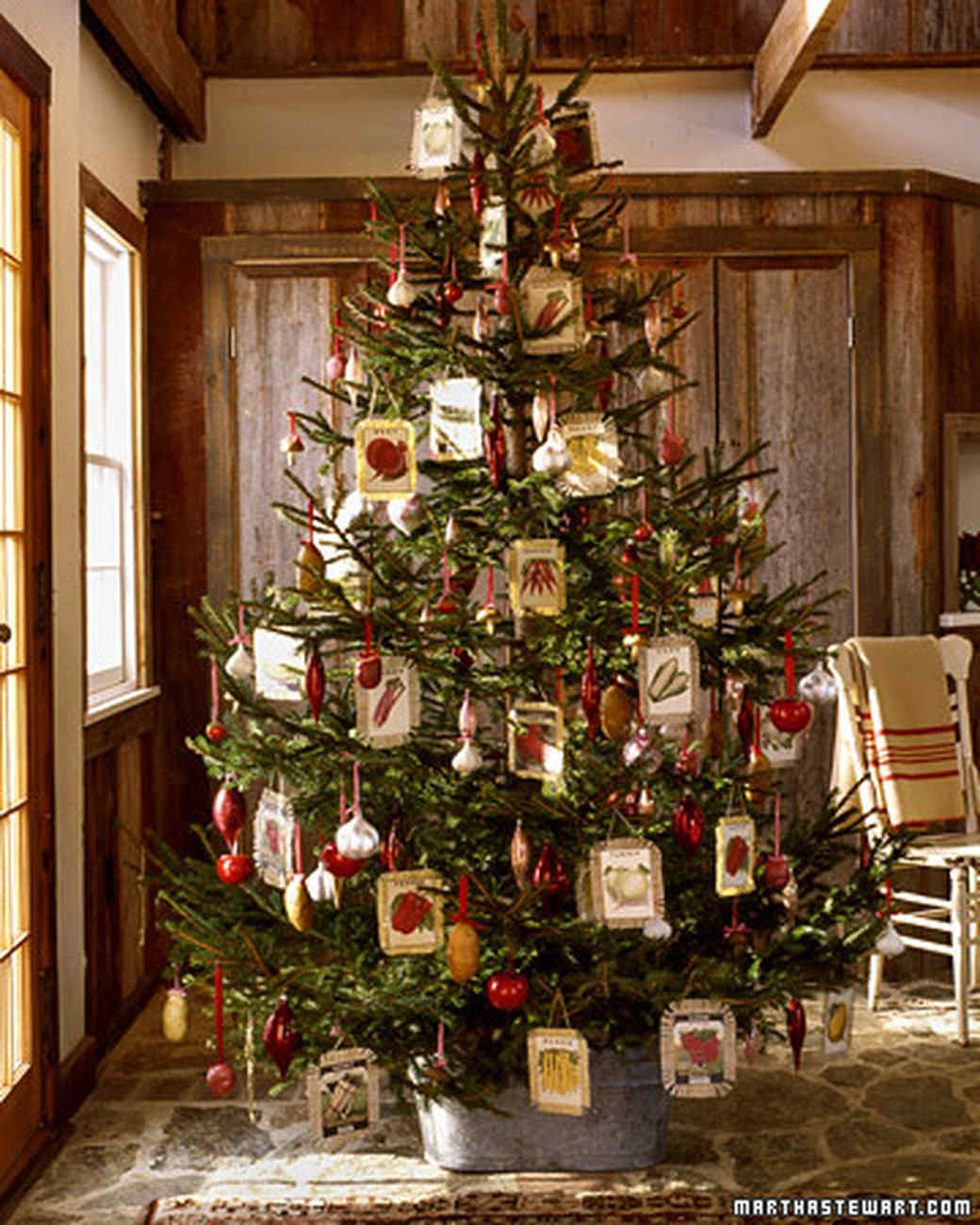Home Decorated 27 creative christmas tree decorating ideas | martha stewart