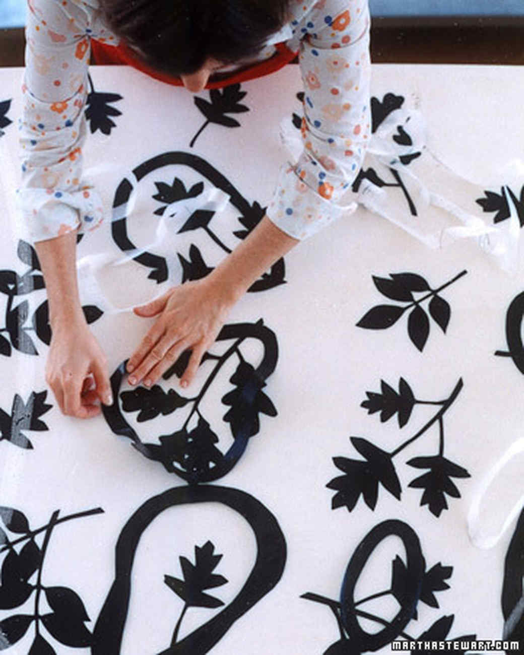 Top 10 Stencil And Painted Rug Ideas For Wood Floors: Making Canvas Rugs