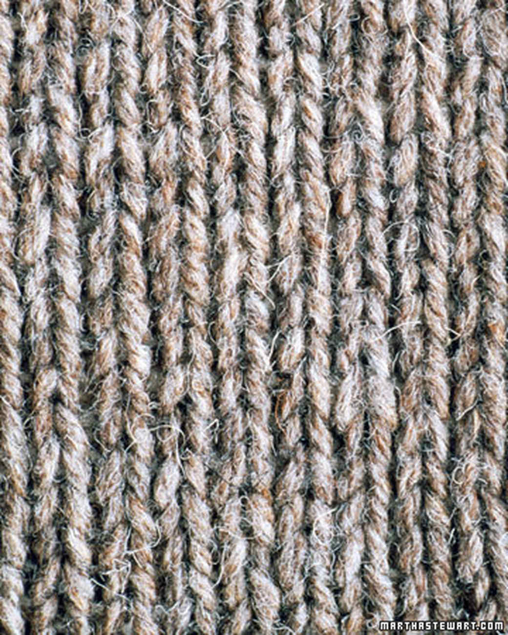 Knitted Stockinette Stitch Scarf Pattern : Basic Scarf Pattern Martha Stewart