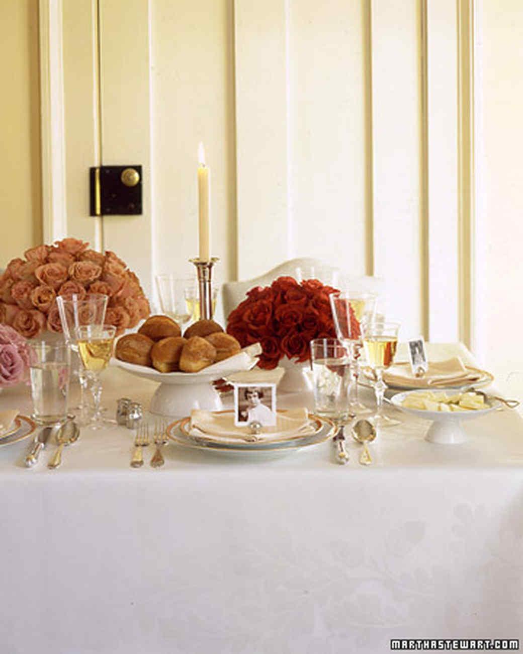 Thanksgiving Table setting a thanksgiving table | martha stewart