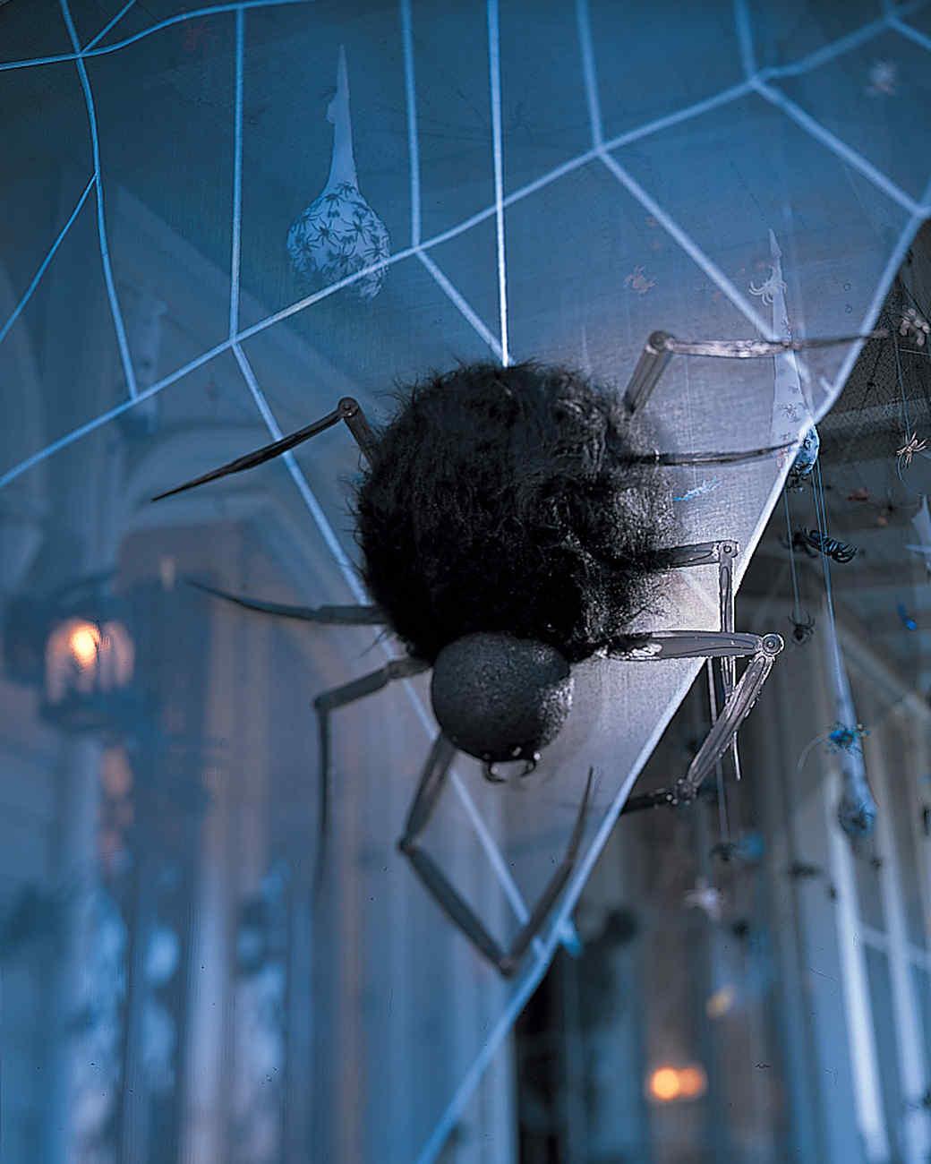 Spooky Porches Spiders Martha Stewart