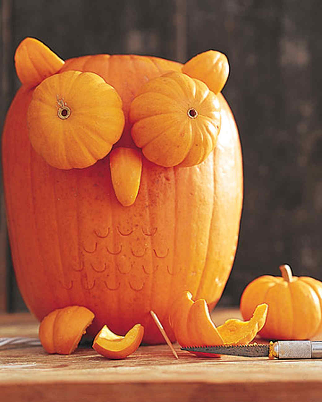 Pumpkin Owls amp Video Martha Stewart