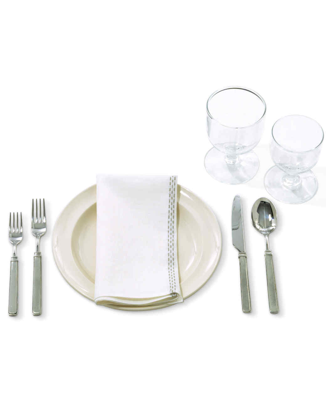 Table Setting setting the table 101 | martha stewart