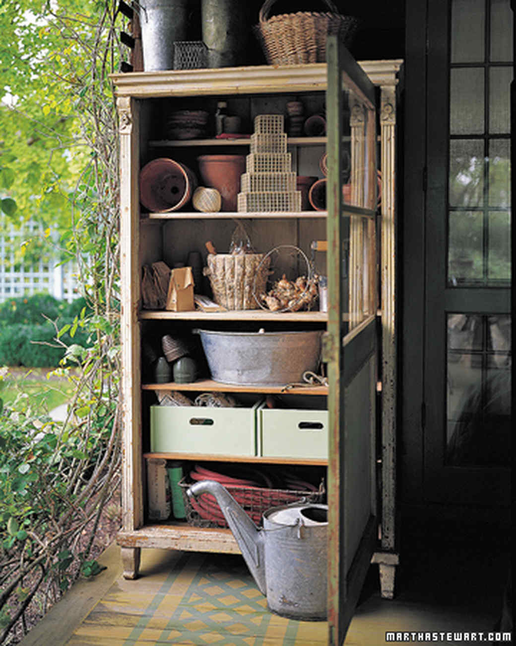 Shed Interiors And Storage Ideas