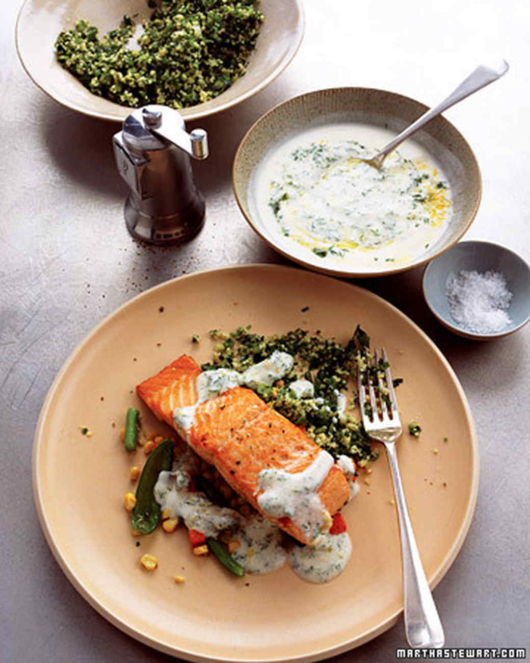 Lemon dill sauce for salmon for Dill sauce for fish