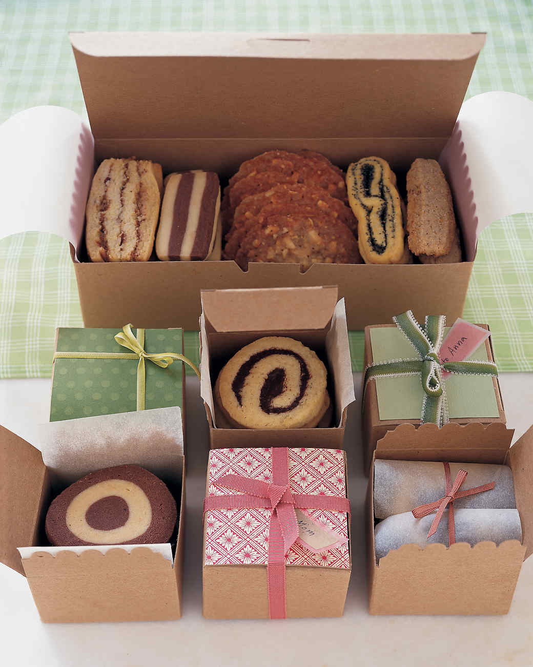 Как можно упаковать печенье