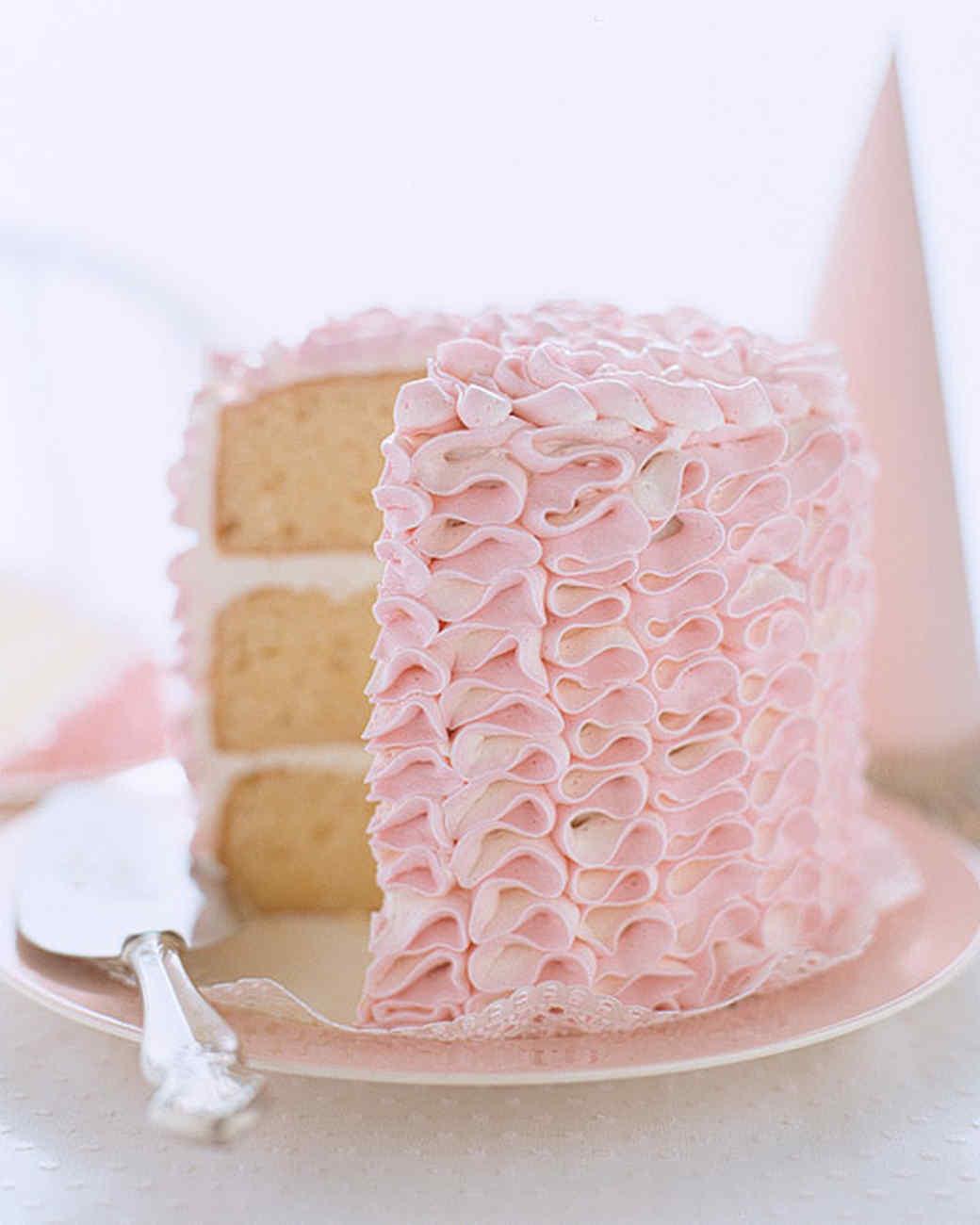 Ruffle Tower Cake