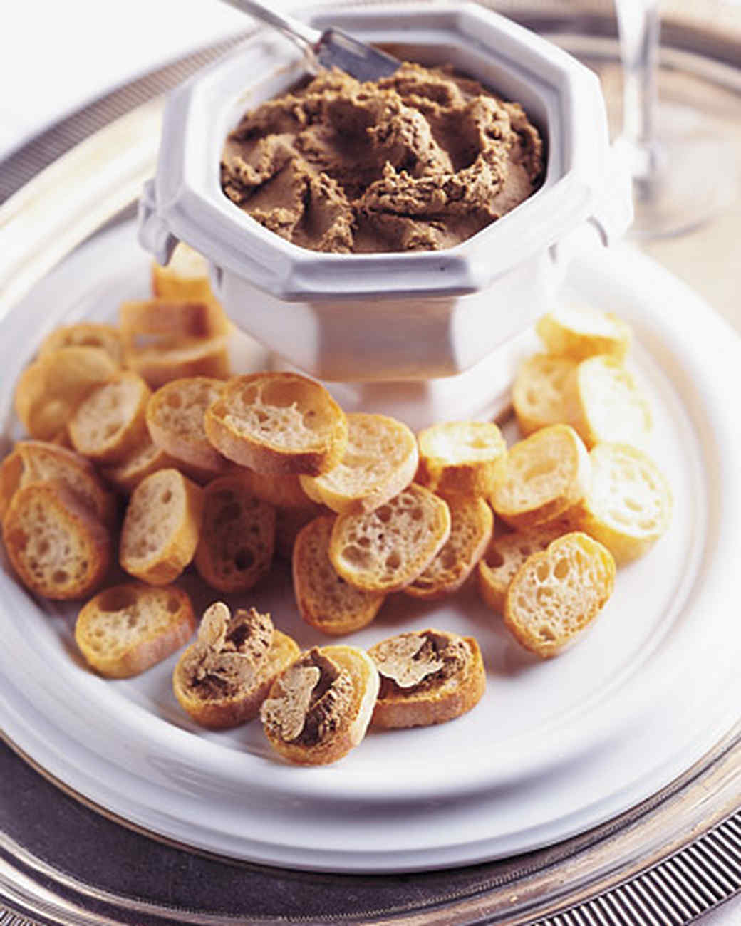 Chicken Liver Pate with White Truffles Recipe | Martha Stewart