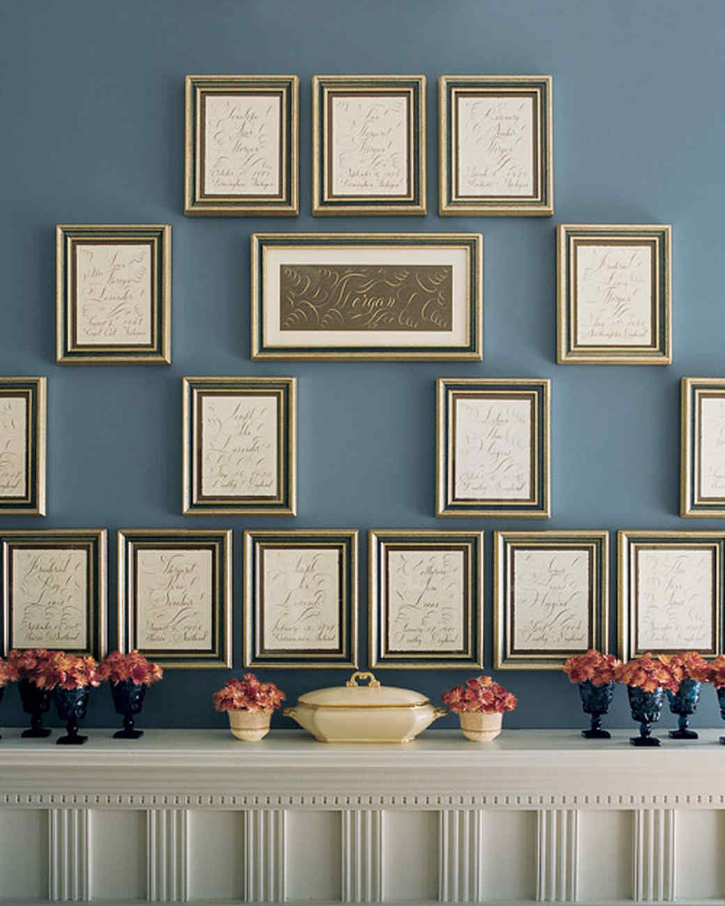 blue rooms | martha stewart
